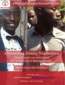 Jimmy Nimbonera Flyer 2